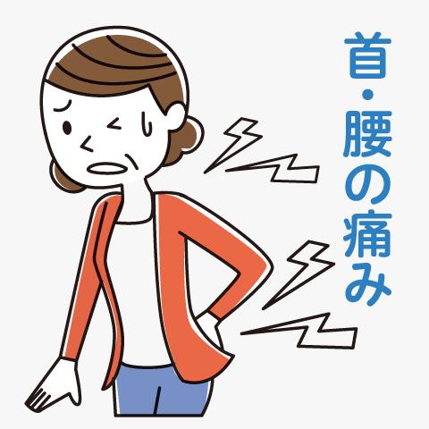 首 腰 の 痛み